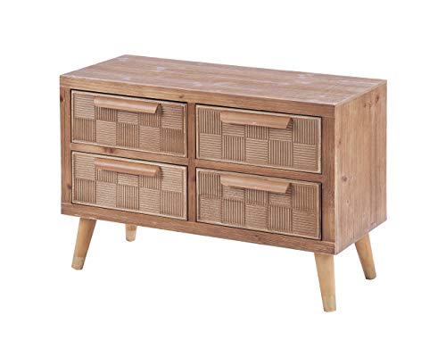 ts-ideen ladekast, dressoir, tv-bank, televisietafel, hal plank, hout, 55 x 80 cm