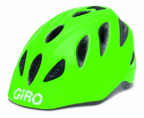 Giro Kinder Fahrradhelm Rascal, Bright Green, 46-50