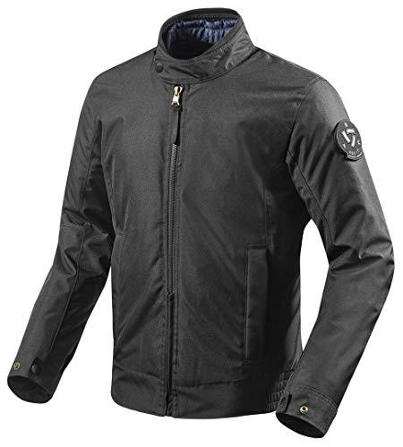 FJT210 - 0010-XXL - Rev It Woodbury Motorcycle Jacket XXL Black