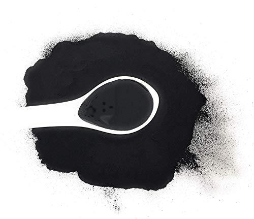 Ikasumi Poudre Dencre De Calmar Noir - Poudre Dencre De Seiche À 100% De Calmars | Encre De Calmar Noire Pure, Rare, Naturelle, En Poudre Et Véritable - Colorant Alimentaire Noir Naturel (Ikasumi)