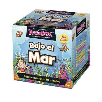 Brainbox- Juego De Memoria Fondo Marino, Multicolor (31693407)