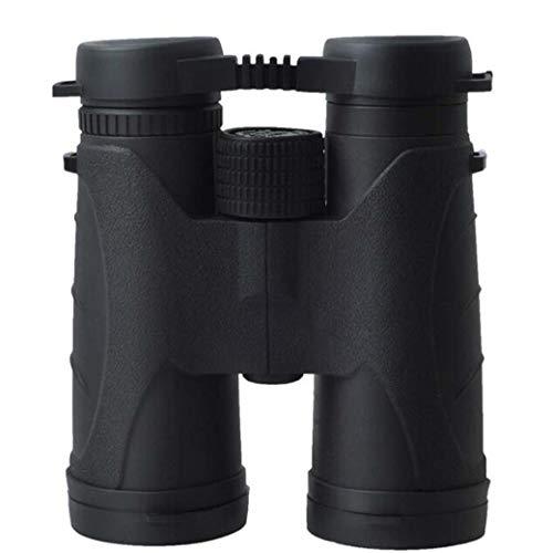 ZTYD 10x42 Prismáticos para Adultos, Totalmente Multi-óptica revestida de Binocular con la Fase Recubierto prismas BAK-4 - Resistente al Agua, al empañamiento y Acorazado de Goma