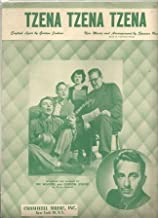 Sheet Music 1950 Tzena Tzena Tzena The Weavers 297
