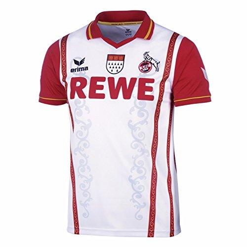 Erima 1. FC Köln Karnevalstrikot 2014/15 Kids Weiß, OscWare_ErimaTexK:2 - 140