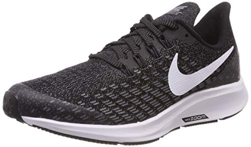 Nike Air Zoom Pegasus 35 (GS), Zapatillas de Running para Niños, Multicolor (Black/White-Gunsmoke-Oil Grey 001), 36.5 EU