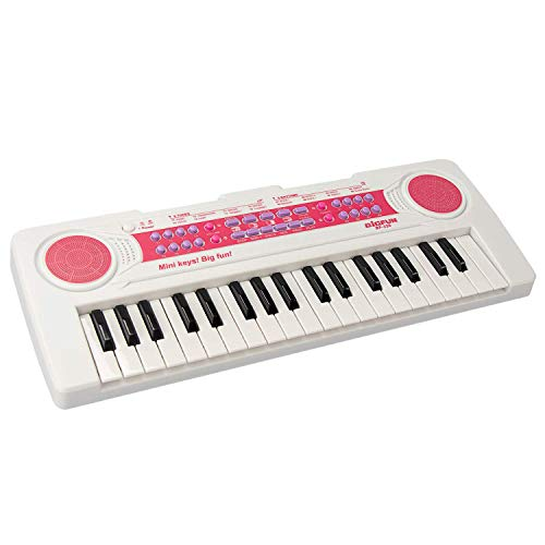 aPerfectLife 37 Keys Piano Keyboard for Kids Multifunction Portable Piano Electronic Keyboard Music Instrument for Kids Early Learning Educational Toy