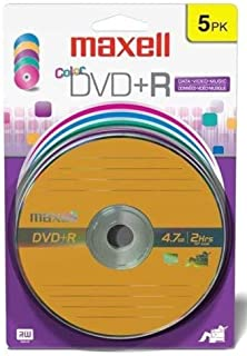 Maxell 639031 Superior Archival Write Once 4.7Gb DVD+R Card Read Compatible with Playback Devices, 5 Pack