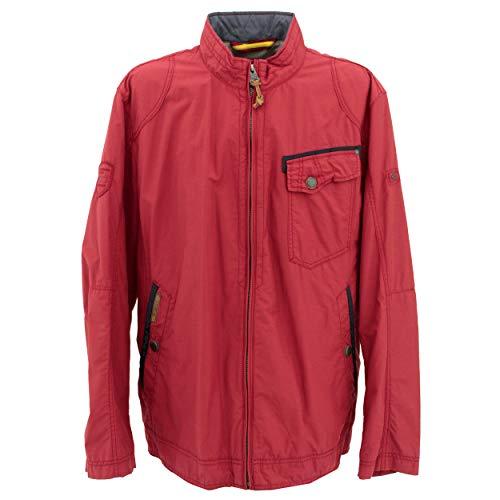 Camel Active Herren Blouson Jacke 430840/1422, Rot (RED 50) , 52 ( Herstellergröße : 58 )