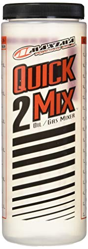 Maxima Racing Oils 10920 Quick2Mix Oil/Gas Ratio Mixing Bottle  20 oz Capacity