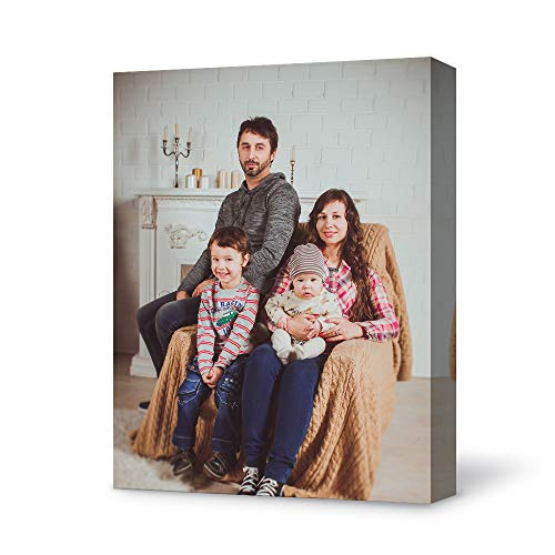 Bestdeal Depot Custom Canvas Wall Art with Your Family Photo for living room,Bedroom Personalized Canvas Prints Digitally Printed-11x14 inches