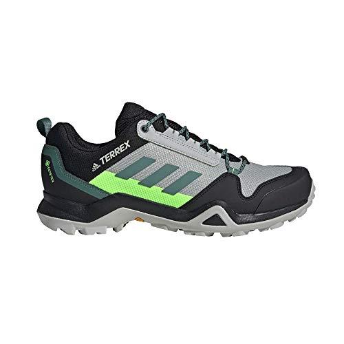 adidas Terrex AX3 GTX, Zapatillas de Hiking Hombre, Gridos/ESMTEC/VERSEN, 48 EU