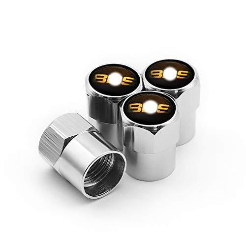 Tapas de Válvulas de Neumático de Coche Suministros de automóviles Decoración de la Tapa de la válvula del neumático para BBS-RM RM RG RS Car DECORACIÓN del Estilo Tapones de Válvulas de Rueda