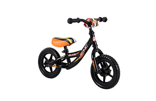 Sonic Glide boys Balance Bike, Orange, 10-Inch wheels