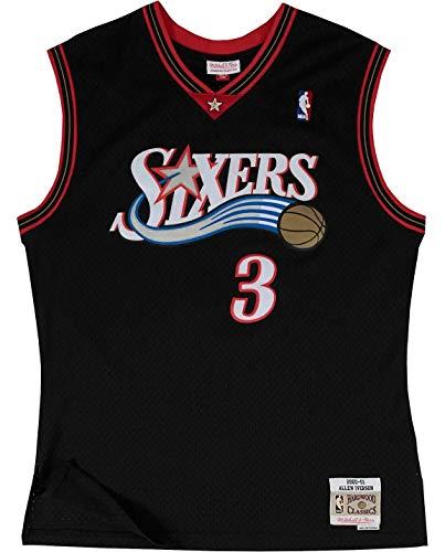Mitchell & Ness Woman Swingman Jersey Philadelphia 76ers Allen Iverson #3 2000-2001 Black XL