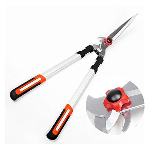 Garden Hedge Shears, Strong Gardening Trimmer, Gardening Pruning Tool Super Sharp Easy Cut Best for Hedge Plants with Comfort Hand Grip Long Lasting, 71cm