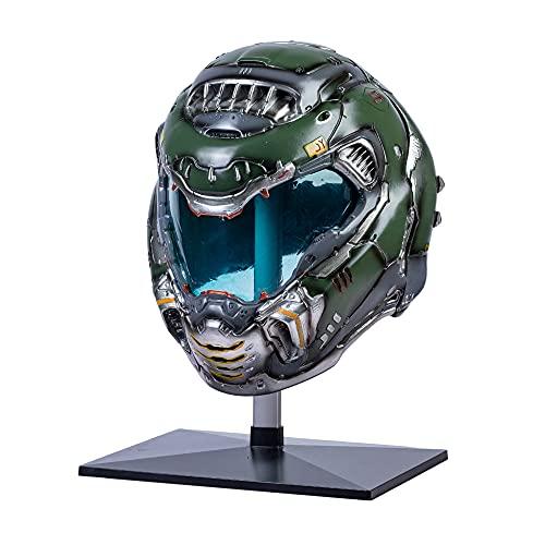 Doomguy Helmet Deluxe Resin Doom Eternal Full Head Mask for Men Cosplay Costume Replica