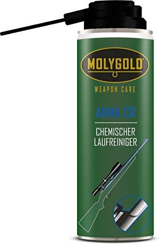 MOLYGOLD Laufreinigungschaum, Arma CR, Waffenpflegemittel, Chemischer Laufreinigungschaum, Cyan, 100 ml