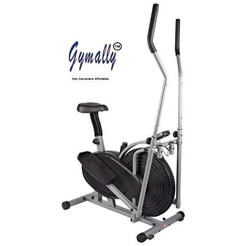 Gymally 2 In 1 Orbitrek (Sitting Pedaling/Standing Rowing),...