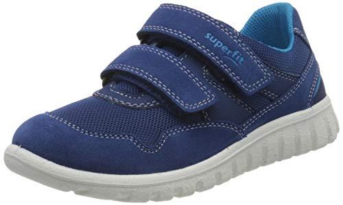 Superfit Baby Jungen SPORT7 Mini Lauflernschuhe Sneaker, Blau (Blau/Blau 81), 26 EU