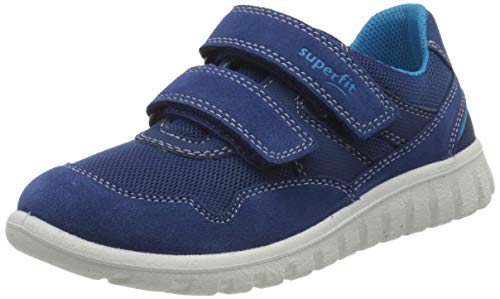 Superfit Baby Jungen SPORT7 Mini Lauflernschuhe Sneaker, Blau (Blau/Blau 81), 29 EU