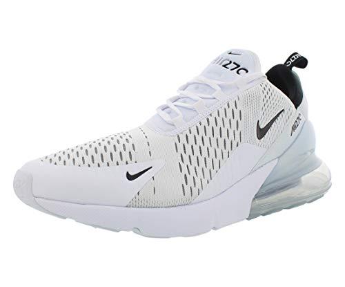 Nike Herren AIR MAX 270 Fitnessschuhe, Weiß (White/Black-White 100), 44 EU