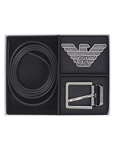 Emporio Armani Y4S270-YLP4X-88003 Bekleidung Accessoires Herren Schwarz - Einheitsgrösse - Gürtel