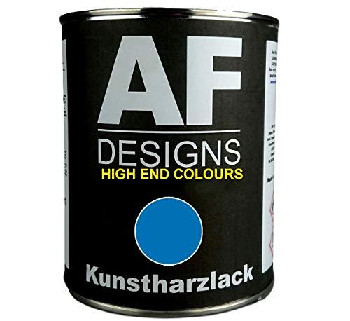 Alex Flittner Designs 1 Liter Kunstharzlack für LEMKEN BLAU Maschinen LKW NFZ Lack Landmaschine Baumaschine