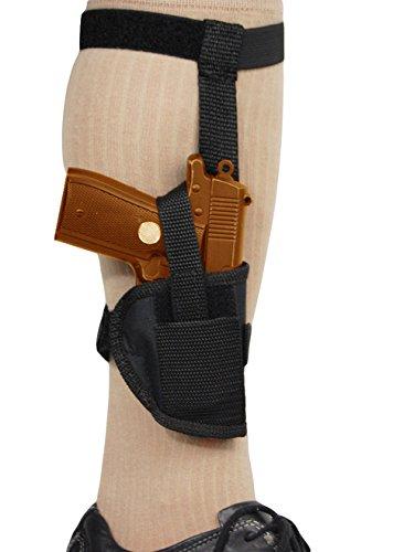 Barsony Holsters & Belts Größe 14 Stier Beretta Glock Ruger Sccy rechte Seite Knöchelholster