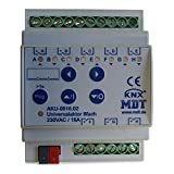 MDT® KNX Universal Schaltaktor 8-fach / 4TE / 16A / 230V (AC)  AKU-0816.02