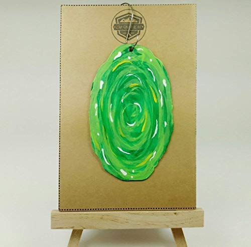 Portal Ornament   Adult Swim   Pickle Rick   Rear View Mirror   Secret Santa   Rick Sanchez   Morty Smith   Gift Exchange