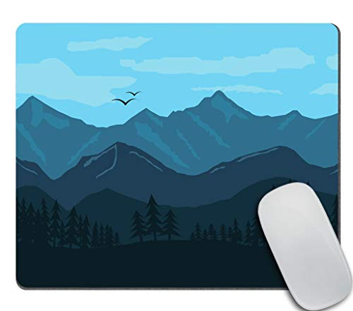 Amcove Gaming Mouse Pad Custom,Mountain Landscape Mouse pad 9.5 X 7.9 Inch (240mmX200mmX3mm)