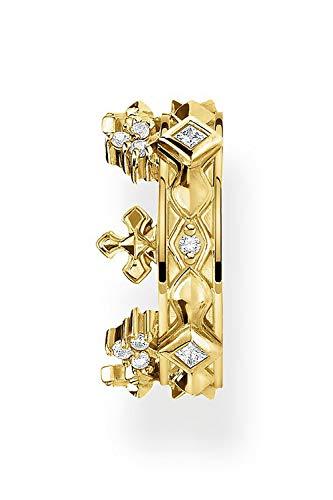 Thomas Sabo EC0016-414-14 - Pendientes de clip para mujer (plata de ley 925)
