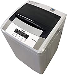 It is a space-saving design which makes your laundry easy and simple. It is perfect for Apartment, RV, Vacation Home, Dorm, and second washer for your house. Lager size 1.54 cu.ft capacity allows you to hold up to 12lbs. of cloth, timeless design, po...
