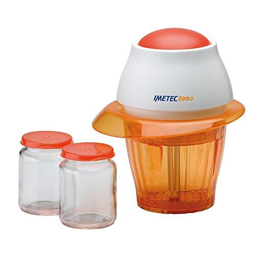 Imetec, Bimbo HM3, Homogenisator, 2 Frischhaltebehälter, Klingen aus Edelstahl, Impulsbetrieb, 400 ml