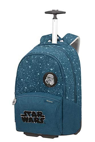 Samsonite Color Funtime Disney - Rucksack mit Rollen, 51 cm, 26 L, blau (Star Wars Intergalactic)