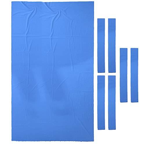 Unbekannt 9 Ft Wolle Billard Billardtisch Tuch 9ft Billardtisch Filz Zubehör - Blau