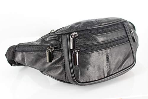 City Style 62022 - Marsupio in pelle, colore: nero