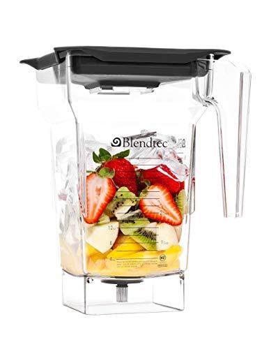 Blendtec 40-609-60 BPA Free Clear 75 Oz Four Sided Blender Jar