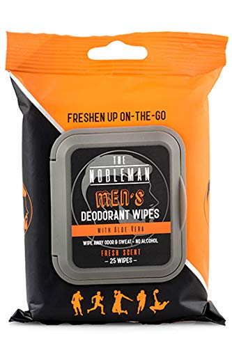 Men's Deodorant Wipes OFFicial store with Aloe 25 Vera COUNT Louisville-Jefferson County Mall -