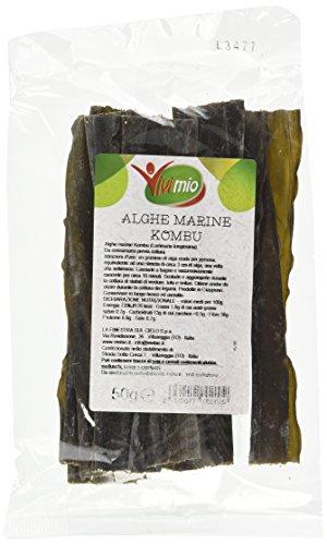 Vivimio Alghe Kombu - 3 pezzi da 50 g [150 g]