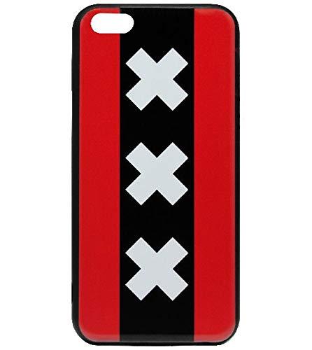 Adel Silicone TPU Back Cover Softcase Custodie Cellulari Compatibile con iPhone 5/ 5S/ SE - Amsterdam Andreas Traverse
