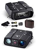 Binocolo visione notturna 3.6-10.8x 31mm Binocolo digitale ad alta potenza da 64GB 1080P con attrezzatura spia a infrarossi per visione notturna per caccia e sorveglianza Alimentazione esterna