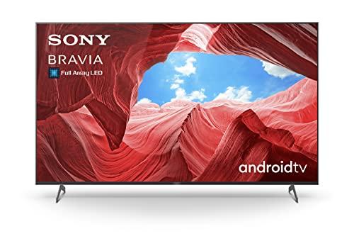Sony KE-55XH90/P Bravia 139 cm (55 Zoll) Fernseher (Android TV, Full Array LED, 4K, High Dynamic Range (HDR), Smart TV, Sprachsteuerung, 2021 Modell) Schwarz