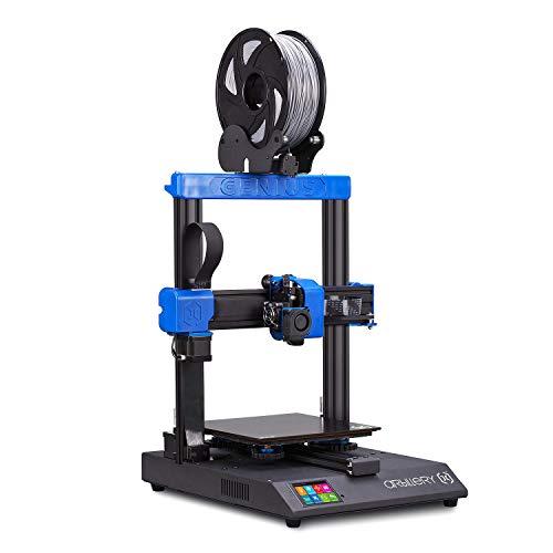 Aibecy Artillery Genius Impresora 3D de alta precisión Kit de bricolaje Tamaño de impresión 220 * 220 * 250 mm Funcionamiento ultra silencioso con pantalla táctil a color de 2,8 pulgadas