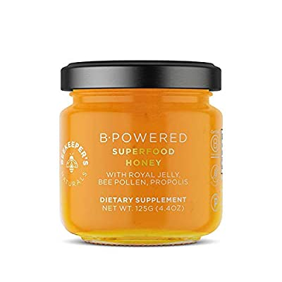 Beekeeper's Naturals B.Powered Superfood Honey