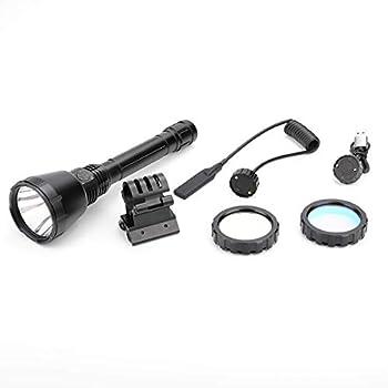 IMALENT UT90 Lampe torche led ultra puissante 4800 lumens 4 Modes avec Zoom USB Rechargeable IPX-8 étanche Lampe de poche pour fusil Pour camping,tirer,éclairage de secours(UT90-Kit)