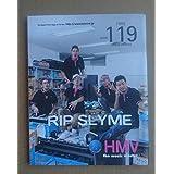 リップスライム RIP SLYME非売品冊子HMV119 2002TOKYO CLASSICの特集