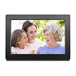Digital Frame for Photos 10 inch with Slideshow Digital Picture Frame with HD IPS Display Picture Frame with Motion Sensor/Video/Background Music/Calendar/Clock/Auto-Rotate/Best Gifts by FLYAMAPIRIT