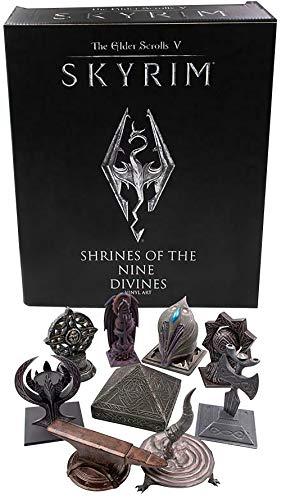 Skyrim The Elder Scrolls V Shrines of The Nine Divines Collectible Vinyl Figure Set