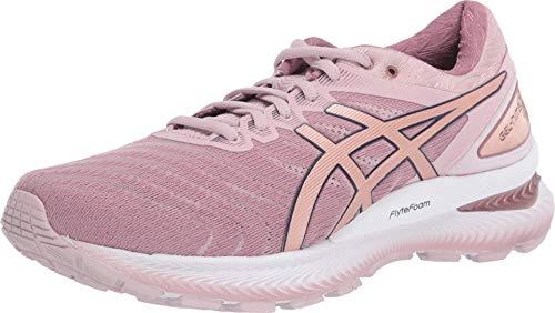 Zapatillas de correr Asics Gel-Nimbus 22 (D) para mujer, Rosa (Cuenca de agua rosa/oro rosa), 42 EU